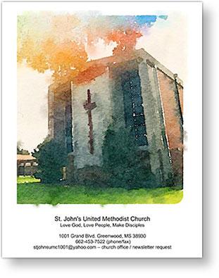 St. John's United Methodist Church of Greenwood, Mississippi