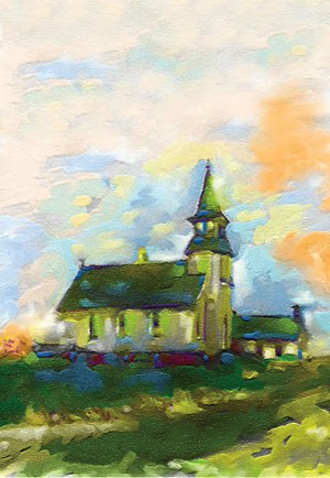 Church Directory Cover Painting