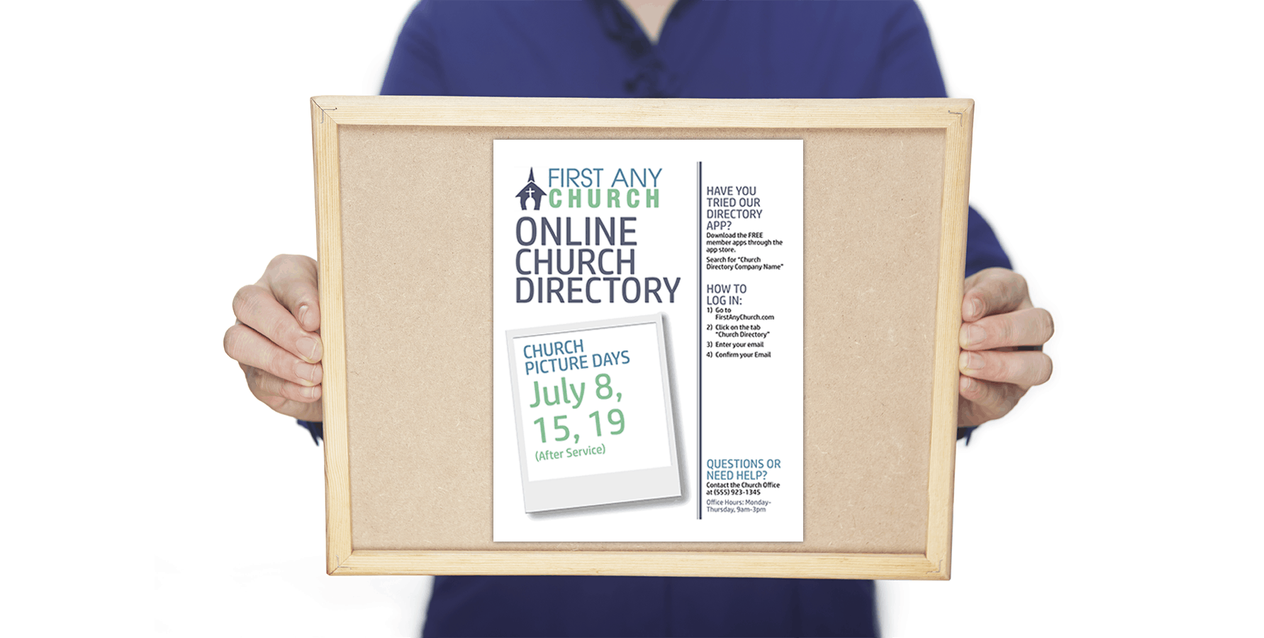 Creating A Bulletin Flyer To Advertise Your Church Directory