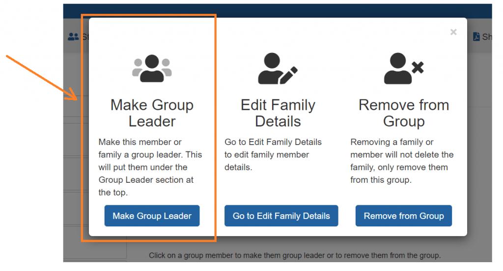 Make Group Leader Screenshot