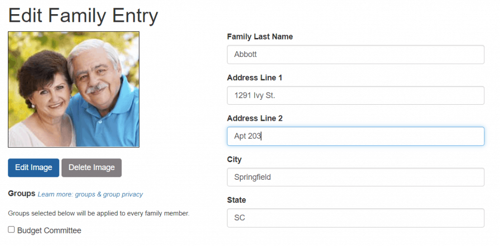 Address Line 2 now available